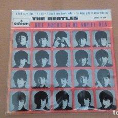 Dischi in vinile: THE BEATLES QUE NOCHE LA DE AQUEL DIA EP SPAIN 1964. Lote 76781447