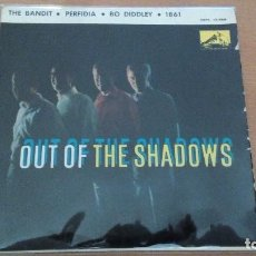 Discos de vinilo: THE SHADOWS / THE BANDIT EP SPAIN 1963. Lote 76783383