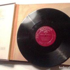 Discos de vinilo: ARTUR RUBINSTEIN THE PHILADELPHIA ORCHESTRA, EUGENE ORMANDY :CHOPIN RED SEAL RECORD. Lote 76837871