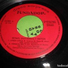 Dischi in vinile: LES FINGERS LINDA CHICA/VENECIA SIN TI/LA CASA DEL SOL NACIENTE/+1 EP 1965 FUNDADOR. Lote 76843539