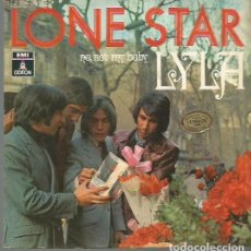 Discos de vinilo: LONE STAR SINGLE SELLO EMI-ODEON EDITADO EN ESPAÑA AÑO 1970. Lote 76844163