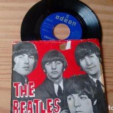 Discos de vinilo: SINGLE (VINILO) DE THE BEATLES AÑOS 60. Lote 76847403