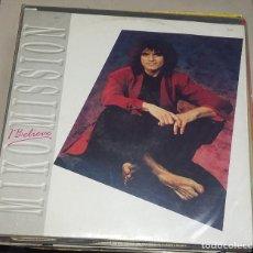 Discos de vinilo: LP. MIKO MISSION. I BELIEVE. 1988. BLACK BIRD. Lote 76850527