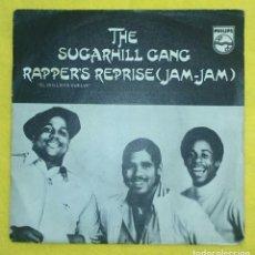 Discos de vinilo: SUGARHILL GANG RAPPER'S REPRISE RAP HIP HOP. Lote 76851695
