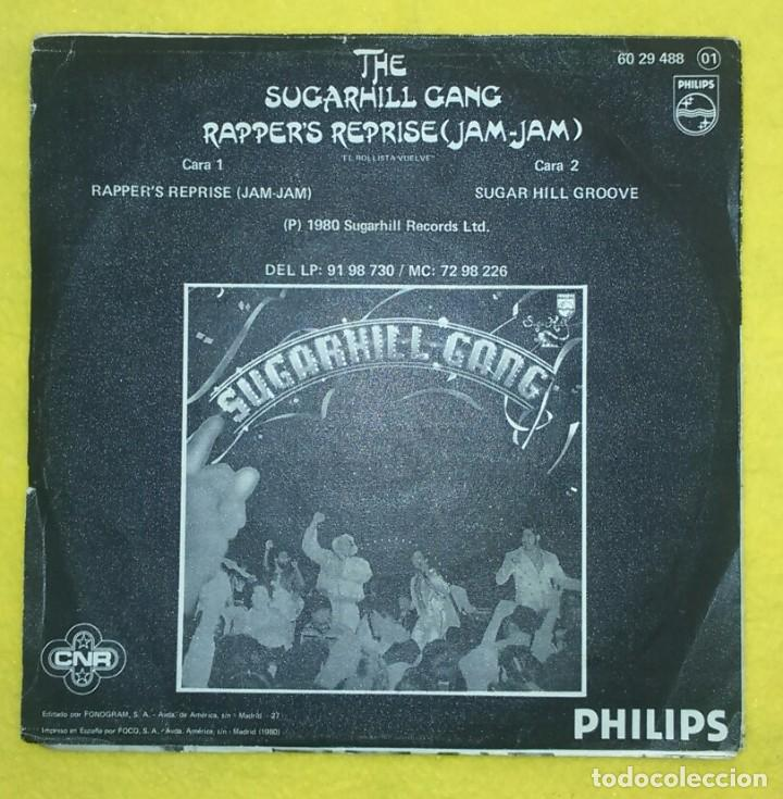 Discos de vinilo: SUGARHILL GANG RAPPERS REPRISE RAP HIP HOP - Foto 3 - 76851695