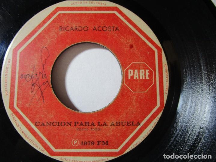 Ricardo Acosta 1979 Motivos Cancion Para La Abu Comprar En Todocoleccion 76867815