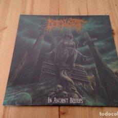 Discos de vinilo: DETERIOROT - IN ANCIENT BELIEFS-LP DEATH METAL BRUTAL DEATH. Lote 76872103