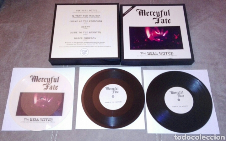MERCYFUL FATE KING DIAMOND THE BELL WITCH VINILO BOX (Música - Discos de Vinilo - EPs - Heavy - Metal	)