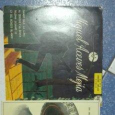 Discos de vinilo: SINGLES VINILO MIGUEL ACEVES MEJIA. Lote 76880291