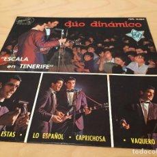 Discos de vinilo: RA110 DISCO SINGLE EP VINILODUO DINAMICO SELLO LA VOZ DE SU AMO AÑO 1964 DEL FILM ESCALA EN TENERIFE. Lote 76885231