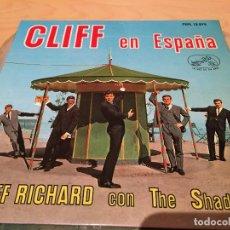 Discos de vinilo: RA110 DISCO SINGLE EP VINILO CLIFF EN ESPAÑA (CLIFF RICHARD CON THE SHADOWS) - PERFIDIA +3. Lote 76886379