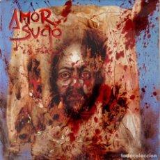 Discos de vinilo: AMOR SUCIO LA FARSA TRIQUINOSE. Lote 76887551