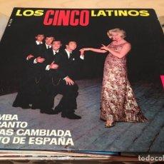 Discos de vinilo: RA110 DISCO SINGLECINCO LATINOS, LOS: LA BAMBA / SI YO CANTO / TÚ ESTÁS CAMBIADA PUEBLITO DE ESPAÑA. Lote 76890443