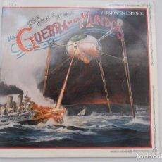 Discos de vinilo: LA GUERRA DE LOS MUNDOS ( VERSION EN INGLES ) (LP-2) 1978 CBS RECORD VINYL. Lote 76890795