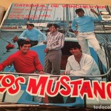 Discos de vinilo: RA110 DISCO SINGLE LOS MUSTANG * CATEDRAL DE WINCHESTER * VERAS QUE ES VERDAD * DANDY + 1 * EP 1967. Lote 76891683