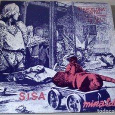 Discos de vinilo: SISA - MIRALDA - BARCELONA POSTAL - 1982 - LP - NUEVO. Lote 76920475