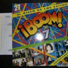 Discos de vinilo: BOOM 7. LP DOBLE 1991. Lote 76921691