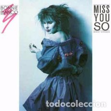 Discos de vinilo: BONNIE BIANCO - MISS YOU SO - METRONOME MUSIC GMBH - MAXI - P. Lote 76948397