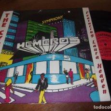 Discos de vinilo: THE CYBERBAND-HEMERO'S SYMPHONY-MAXI VINILO-VANGUARDIA DISCOS 1993. Lote 76950045