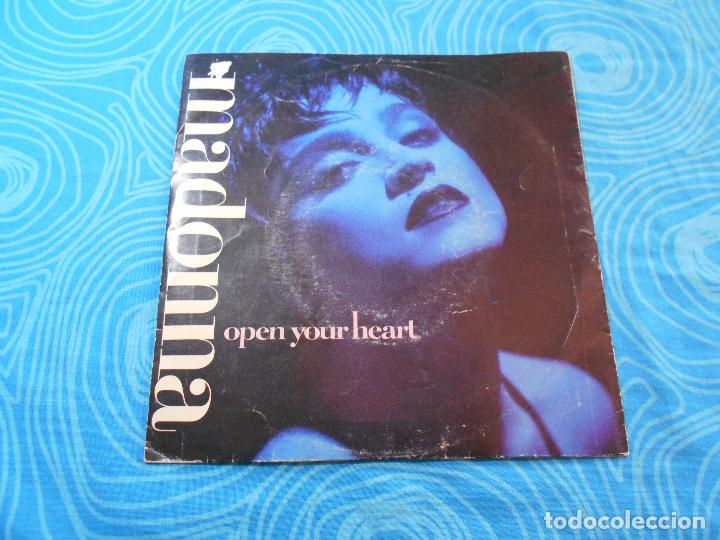 Discos de vinilo: MADONNA SINGLE VINILO OPEN YOUR HEART (WEA RECORDS 1986) - Foto 2 - 76956665