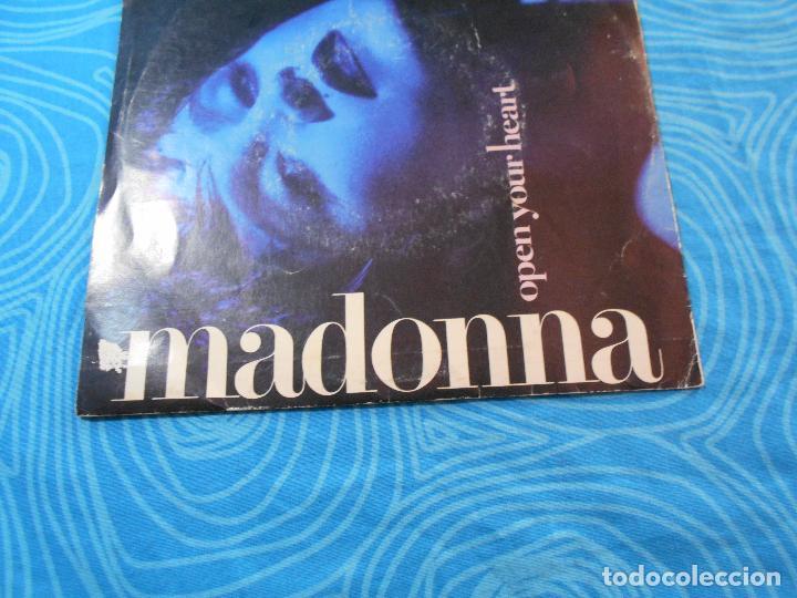Discos de vinilo: MADONNA SINGLE VINILO OPEN YOUR HEART (WEA RECORDS 1986) - Foto 3 - 76956665