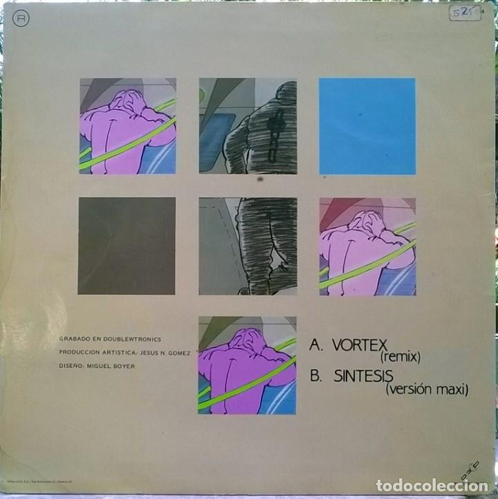 Discos de vinilo: Aviador Dro. Vortex/ Síntesis. Dro, Esp. 1984 (Maxi-LP) - Foto 2 - 76996929