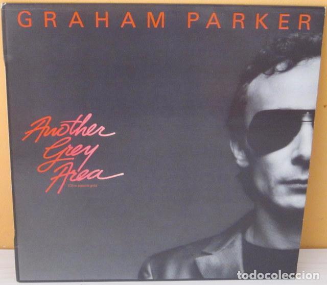 GRAHAM PARKER - ANOTHER GREY AREA - R C A PROMOCIONAL - 1982 (Música - Discos - LP Vinilo - Pop - Rock - New Wave Extranjero de los 80)