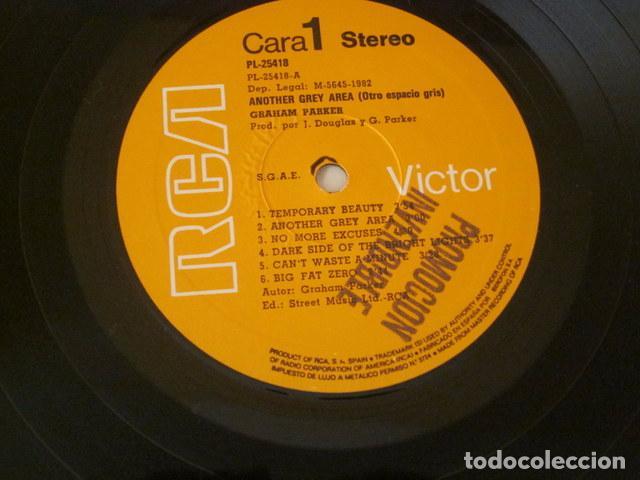 Discos de vinilo: GRAHAM PARKER - ANOTHER GREY AREA - R C A PROMOCIONAL - 1982 - Foto 2 - 77000701