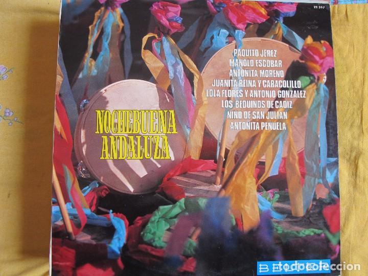 LP - NOCHEBUENA ANDALUZA - VARIOS (VILLANCICOS) (SPAIN, BELTER 1973) (Música - Discos - LP Vinilo - Flamenco, Canción española y Cuplé)