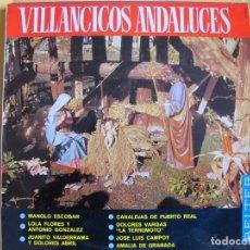 Discos de vinilo: LP - VILLANCICOS ANDALUCES - VARIOS (SPAIN, BELTER 1966). Lote 77053933