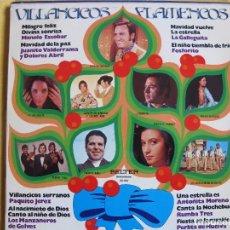 Discos de vinilo: LP - VILLANCICOS FLAMENCOS - VARIOS (SPAIN, BELTER 1975). Lote 77054549