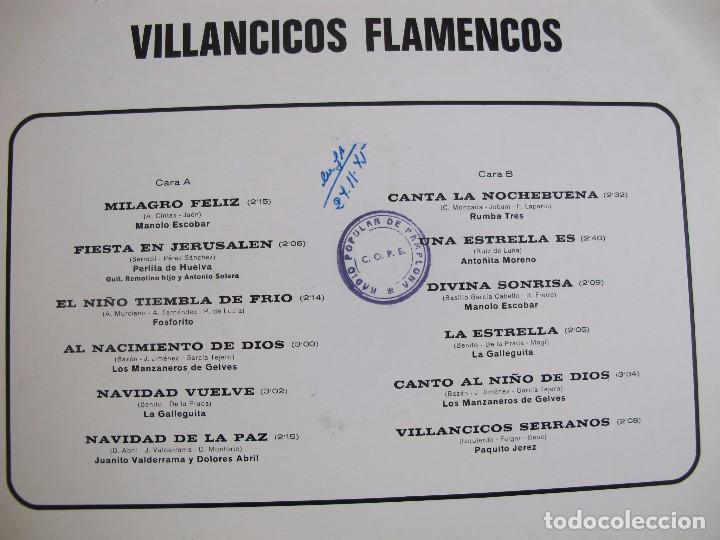 Discos de vinilo: LP - VILLANCICOS FLAMENCOS - VARIOS (SPAIN, BELTER 1975) - Foto 2 - 77054549