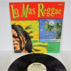 Discos de vinilo: LO MAS REGGAE - LP - ARCADE 1992 - BOB MARLEY / EDDY GRANT / JIMMY CLIFF / CULTURE CLUB / BOY GEORGE. Lote 77105801
