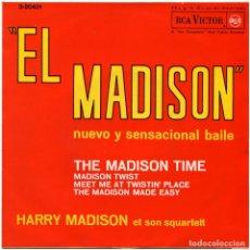 Discos de vinilo: HARRY MADISON ET SON SQUARTETT – EL MADISON - EP SPAIN 1962 - RCA VICTOR 3-20421. Lote 77112005