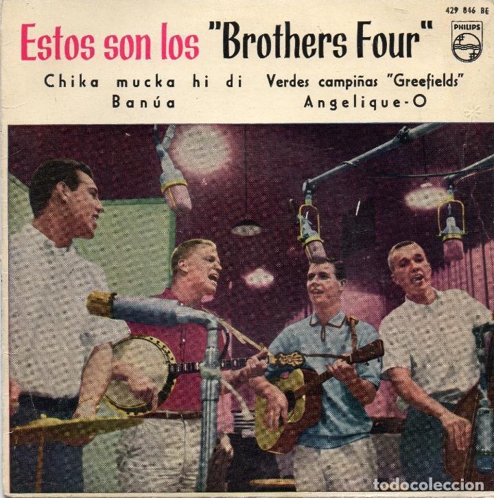 BROTHERS FOUR - CHIKA MUCKA HI DI BANUA - EP (Música - Discos de Vinilo - EPs - Country y Folk)