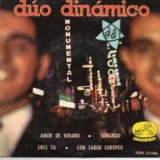Dischi in vinile: DUO DINAMICO - AMOR DE VERANO + 3 EP. Lote 77117125