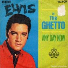 Discos de vinilo: ELVIS - IN THE GHETTO - 1969 . Lote 77118701