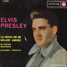 Discos de vinilo: ELVIS PRESLEY - LA NOVIA DE MI MEJOR AMIGO + 3 EP - 1972. Lote 77118881