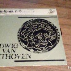 Discos de vinilo: LUDWIG VAN BEETHOVEN - SINFONIA Nº5 EN DO MENOR, OP.67. Lote 77130357