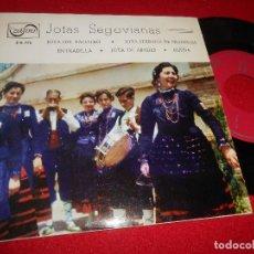Discos de vinilo: JOTAS SEGOVIANAS JOTA DEL PALOTEO/JOTA SERRANA DE PRADENAS/ENTRADILLA/JOTA DE ABADES EP 1967 ZAFIRO. Lote 77134921