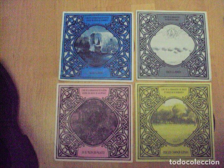 LOTE 4 DISCOS SINGLES ANDALUCIA ROCIERA DE HISPAVOX DE 1989 (Música - Discos - Singles Vinilo - Flamenco, Canción española y Cuplé)