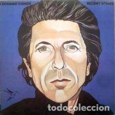 Discos de vinilo: LEONARD COHEN - RECENT SONGS LP. Lote 77207181