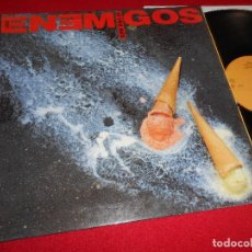Discos de vinilo: LOS ENEMIGOS LA VIDA MATA LP 1990 GASA GATEFOLD EDICION ESPAÑOLA SPAIN. Lote 77214941