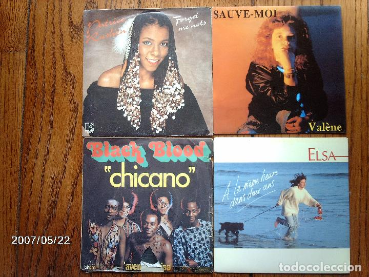 Discos de vinilo: lote 20 discos singles varios estilos mayoria musica francesa - goldman, les coco-girls , laforet, - Foto 3 - 77215857