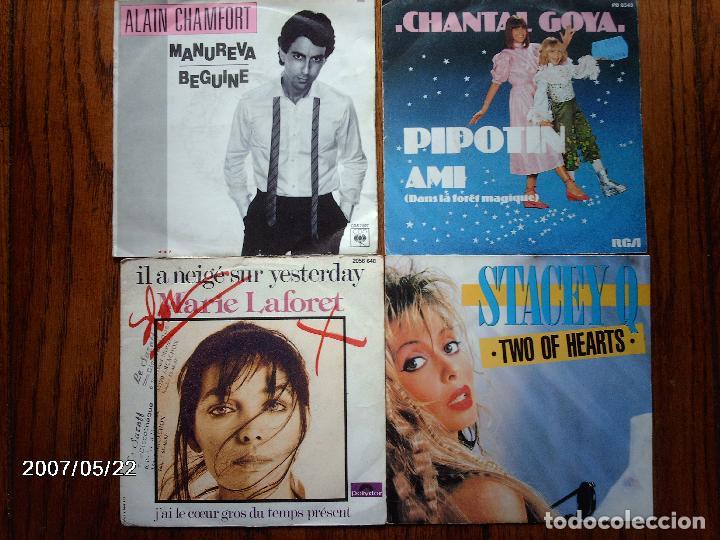 Discos de vinilo: lote 20 discos singles varios estilos mayoria musica francesa - goldman, les coco-girls , laforet, - Foto 4 - 77215857