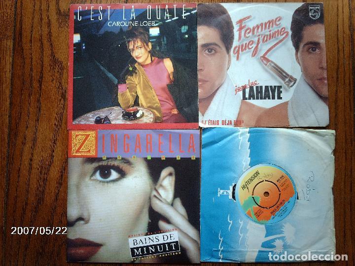 Discos de vinilo: lote 20 discos singles varios estilos mayoria musica francesa - goldman, les coco-girls , laforet, - Foto 5 - 77215857