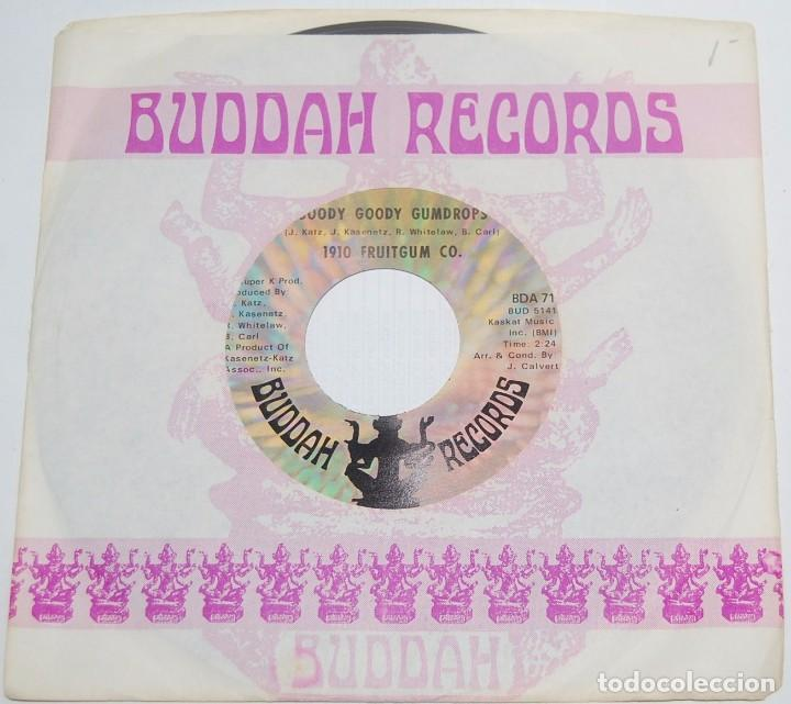 SINGLE - 1910 FRUITGUM CO. - GOODY GOODY GUMDROPS / CANDY KISSES - BUDDAH RECORDS 1968 USA (Música - Discos - Singles Vinilo - Pop - Rock Extranjero de los 50 y 60)