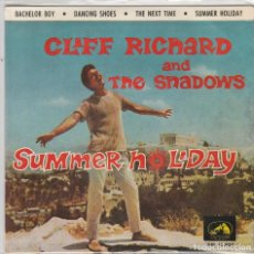 Disques de vinyle: CLIFF RICHARD / BACHELOR BOY + 3 (EP 1963). Lote 77219257