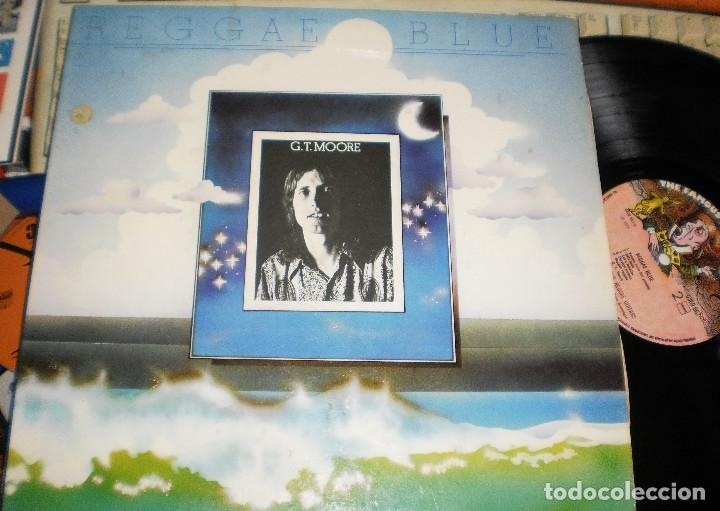 G.T. MOORE AND THE REGGAE GUITARS LP REGGAE BLUE.1975 (Música - Discos - LP Vinilo - Reggae - Ska)