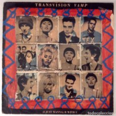 Discos de vinilo: TRANSVISION VAMP (I JUST WANNA) B WITH U. Lote 77227101